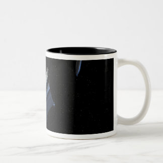 Artists conception of Spitzer Two-Tone Coffee Mug