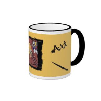 Artist's customizable mug