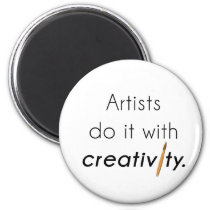Artists do it with creativity magnet