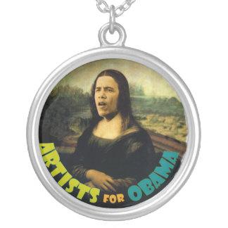 Artists for Obama (Da Vinci) necklace