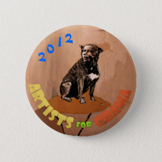 Artists for Obama: Henri Toulouse-Lautrec Pinback Button