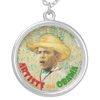 Artists for Obama (van Gogh) necklace