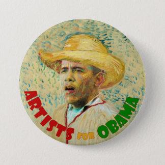 Artists for Obama: Vincent Van Gogh Pinback Button