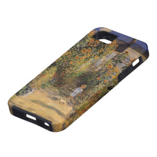 Artist's Garden at Vetheuil by Claude Monet iPhone 5 Cases
