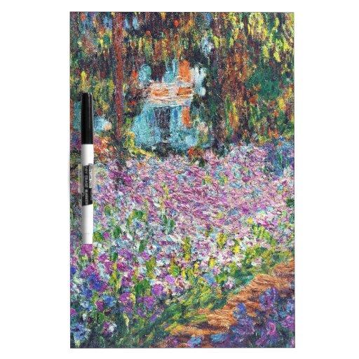 Artist's Garden Giverny Dry-Erase Board