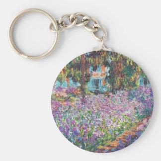 Artist's Garden Giverny Keychain