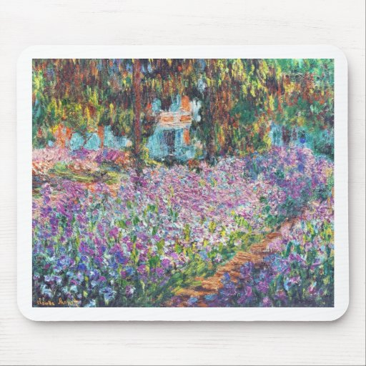Artist's Garden Giverny Mouse Pad