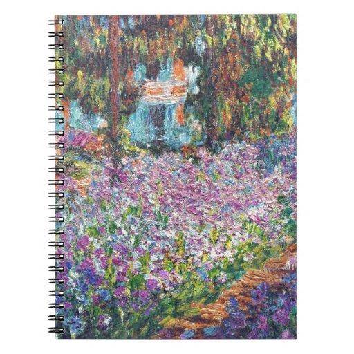 Artist's Garden Giverny Notebooks