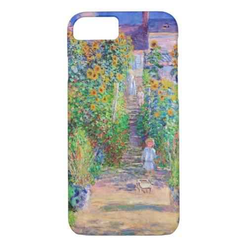 Artist's Garden, Monet Phone Case
