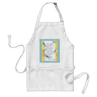 Artists motivational apron