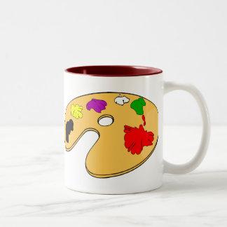 Artists mug - giant two tone