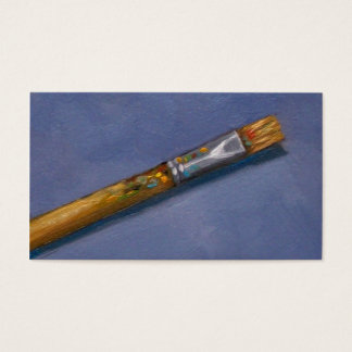 Artist's Paint Brush, Art, Craft Business Business Card