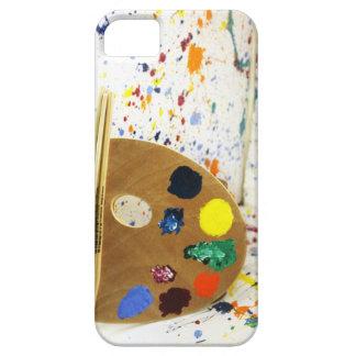 Artists Paint Splatter And Pallet of Paint iPhone SE/5/5s Case