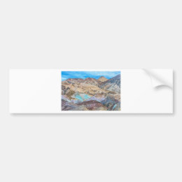 Artist's Palette (Close-Up) Bumper Sticker