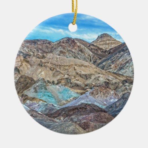 (Artist's Palette) Death Valley National Park Ceramic Ornament