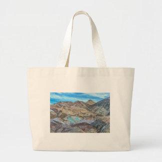 (Artist's Palette) Death Valley National Park Large Tote Bag