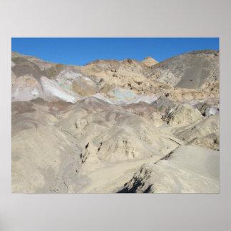 Artist's Palette, Death Valley Poster