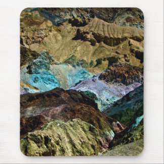 ARTIST'S PALETTE IN DEATH VALLEY, CALIFORNIA MOUSE PAD