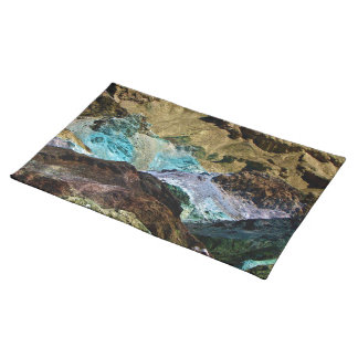 ARTIST'S PALETTE IN DEATH VALLEY, CALIFORNIA PLACE MAT