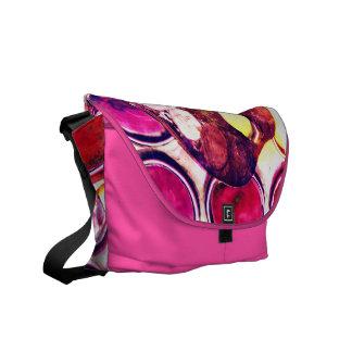 Artist's palette messenger bags