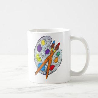 Artist's Palette Mugs