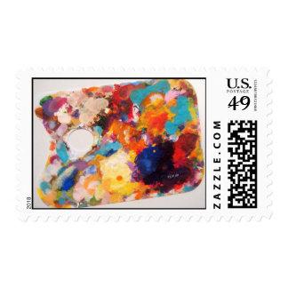 Artist's Palette Postage