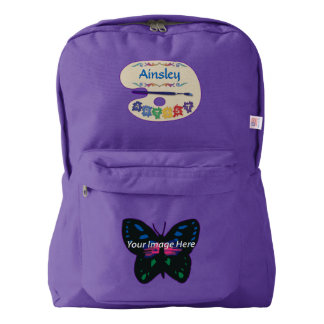 Artist's Palette with Your Image American Apparel™ Backpack