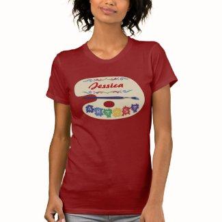Artist's Pallet T-shirts