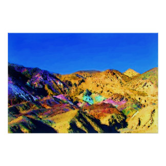 Artist's Pallete, Death Valley NP - full bleed Poster