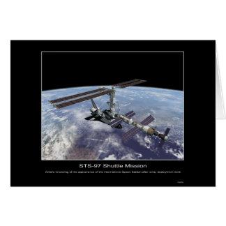 Artist's rendering International Space Station Card