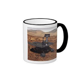 Artists rendition of Mars Rover 2 Ringer Coffee Mug