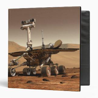 Artist's Rendition of Mars Rover 3 Ring Binders