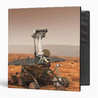 Artists rendition of Mars Rover Binder