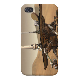 Artist's Rendition of Mars Rover Covers For iPhone 4