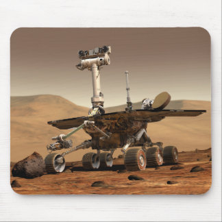 Artist's Rendition of Mars Rover Mouse Pad