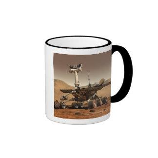 Artist's Rendition of Mars Rover Mugs