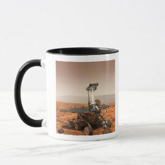 Artists rendition of Mars Rover Mug