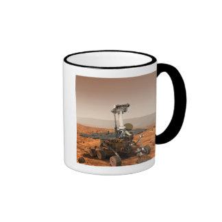 Artists rendition of Mars Rover Mugs