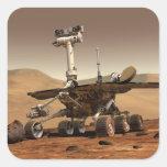 Artist's Rendition of Mars Rover Sticker