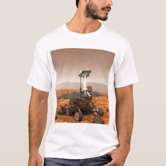 Artists rendition of Mars Rover T-Shirt