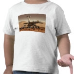 Artist's Rendition of Mars Rover T-shirts