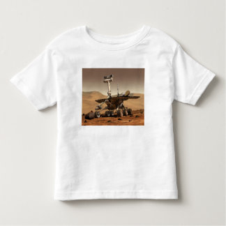 Artist's Rendition of Mars Rover Toddler T-shirt