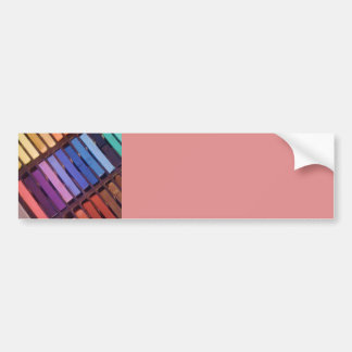 Artist's Soft Chalk Pastels Bumper Sticker