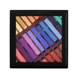 Artist's Soft Chalk Pastels Jewelry Box
