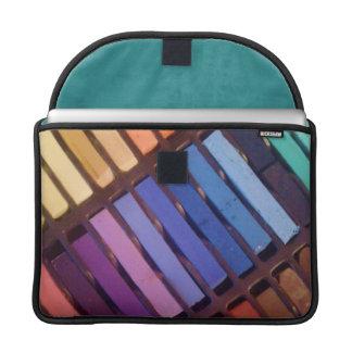 Artist's Soft Chalk Pastels MacBook Pro Sleeve