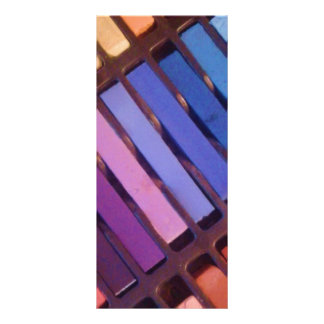 Artist's Soft Chalk Pastels Rack Card