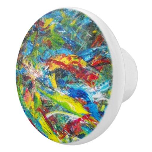 Artist's Studio Ceramic Knob