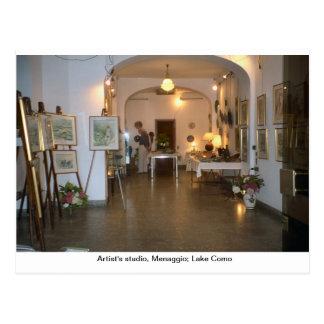 Artist's studio, Menaggio; Lake Como 1 Postcard