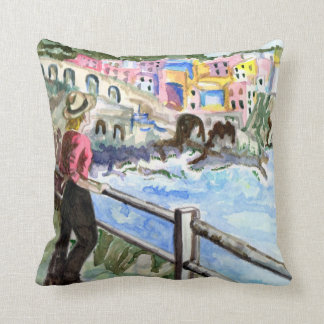 ARTIST'S THROW PILLOW - ECLECTIC DESIGN - GIFTS
