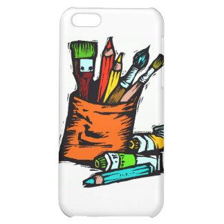 artist's tools iPhone 5C case